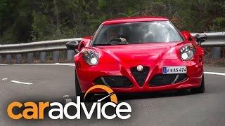 Alfa Romeo 4C Coupe review 2015 (2016 MY)