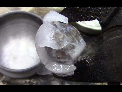 Super-Cooled Nickel Ball Is Even Better Than Red Hot Nickel Ball