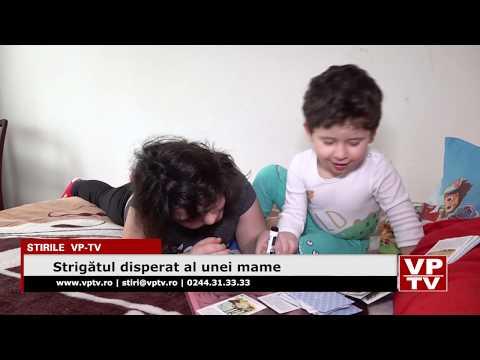 Strigătul disperat de ajutor al unei mame