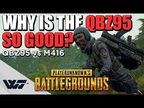 為什麼QBZ95這麼讚? 詳細解析以及與M416比較