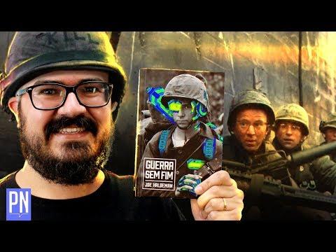 Livro GUERRA SEM FIM e melhores filmes da GUERRA DO VIETNÃ | Pipoca e Nanquim #342