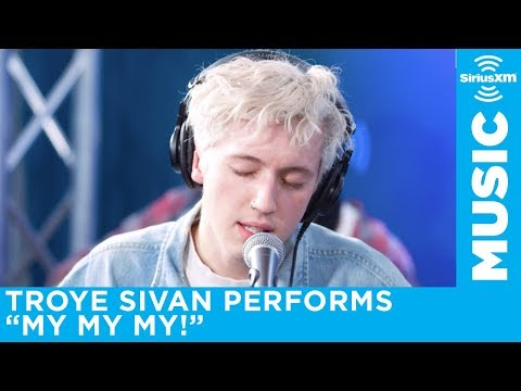 Troye Sivan performs My My My! acoustic live for SiriusXM Hits 1
