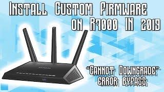 [TUTORIAL] Install Custom Firmware On The Netgear R7000 [2019]