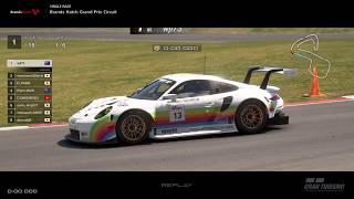 Gran Turismo™SPORT - Brands Hatch GP Porsche RSR Gr3 (online race)