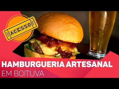 Hamburgueria artesanal em Boituva - TV SOROCABA/SBT