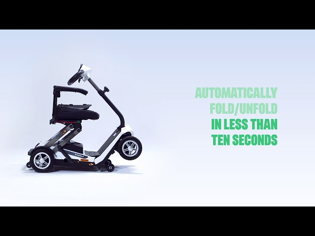 Invacare Scorpious Autofold Mobility Scooter Video