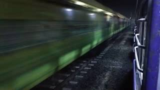 preview picture of video '12273 Howrah Duronto overtaking 15126 Janshatabdi'