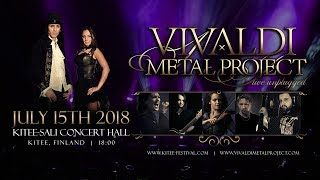 Vivaldi Metal Project - THE FOUR SEASONS - Medley Live Unplugged - World Premiere!
