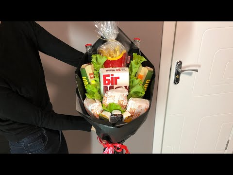 Букет Из Меню Макдональдс / Bouquet From McDonald's Menu