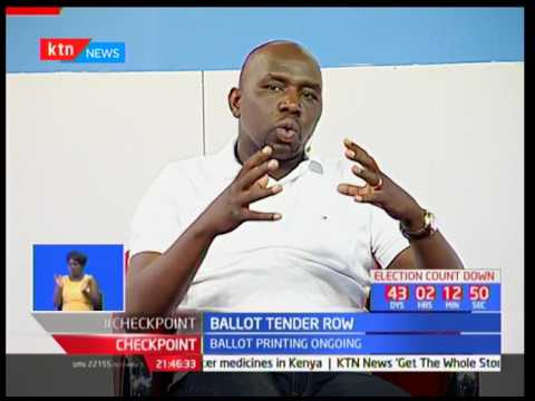 The Ballot tender row : The stalemate over the procurement of ballot papers