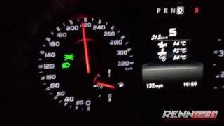 Mercedes A45 AMG RENNtech tuned Beschleunigung acceleration 150 280 km h 100 175 mph