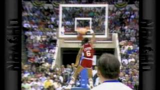Dominique Wilkins wins first Dunk Contest 1985