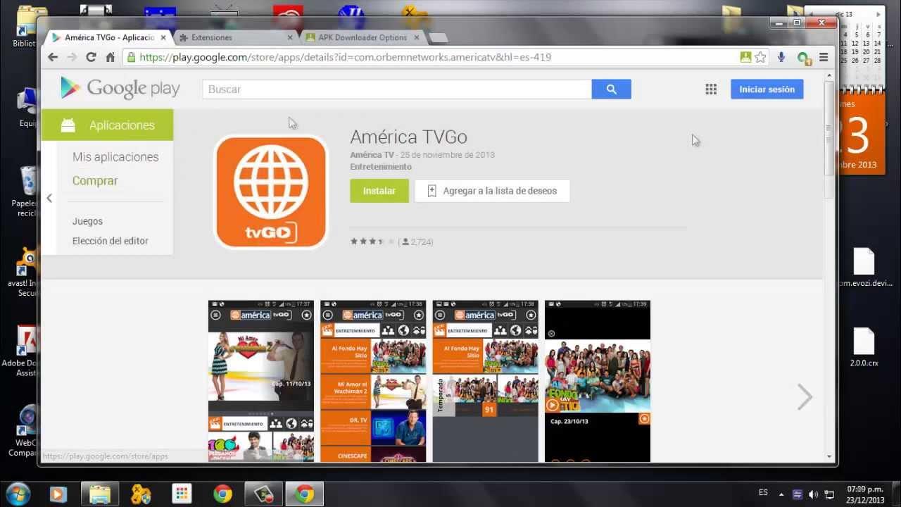 Descarga Aplicaciones de Google Play hacia tu PC/Laptop 100% Full Crackeado