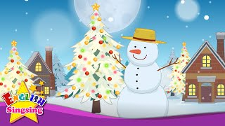 White Christmas - Christmas Carol - Christmas Kids Song - Xmas Music