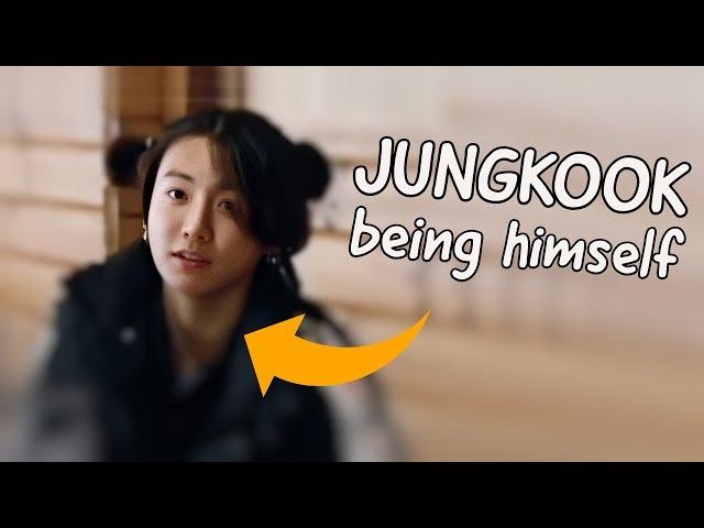 Jungkook being himself