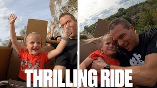 FOUR-YEAR-OLD KID CONQUERS TERRIFYING ROLLER COASTER AT WALT DISNEY WORLD | EXPEDITION EVEREST