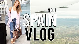 SPAIN VLOG #1 // Leaving for the Airport
