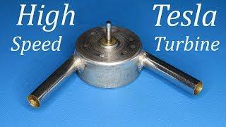 How to make mini high speed Tesla Turbine from DC motor