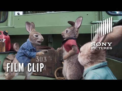 New Movie Clip for Peter Rabbit