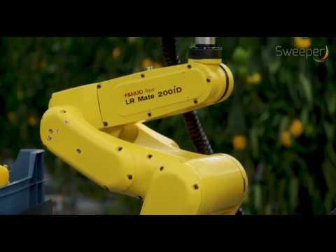 Film: Robot skördar paprika