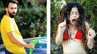 PEOPLE ARE DOING STUPID THINGS. Funny pranks compilation. || Funny moments by 5-Minute FUN