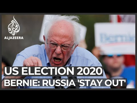US election 2020: Bernie Sanders warns Russia to 'stay out'