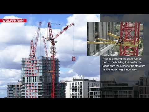 Climbing WOLFF Tower Cranes
