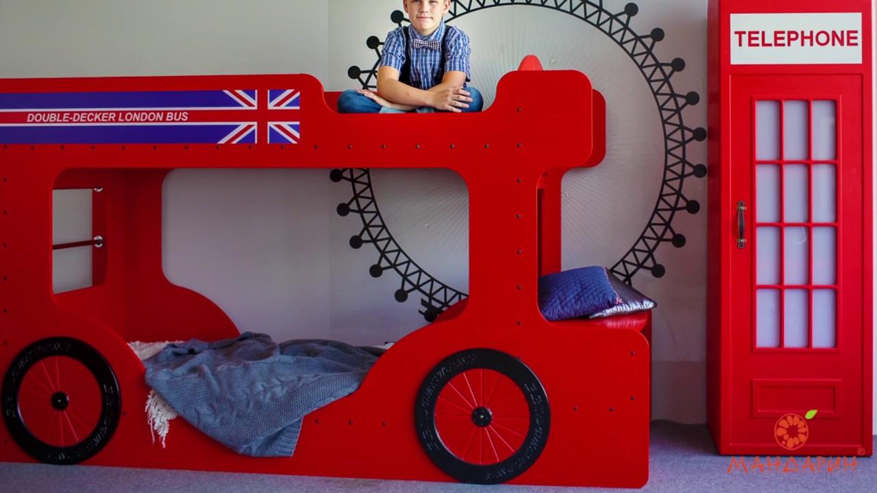 Коллекция детской мебели Лондон