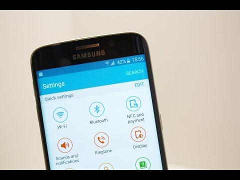 Alle Einstellungen des Samsung Galaxy S6 (Edge) | settings