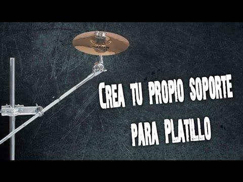 Soporte para Platillo (splash) Casero..