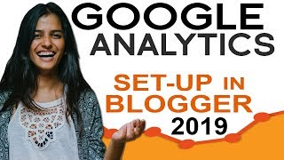How to setup google analytics tracking ID  in blogger site 2019