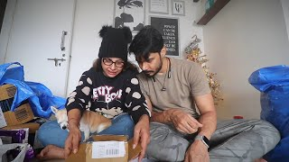 GIFT for AMITA arrived from CANADA | Gift Unboxing | Ss Vlogs :-)
