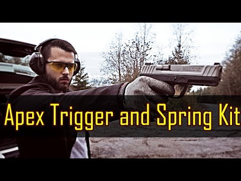 Apex Trigger and Srping Kit Review - Smith And Wesson SD9 VE+ 20 Pound Tension Spring