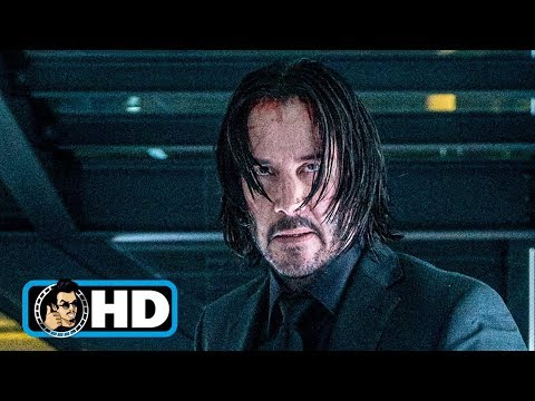 JOHN WICK 3 Movie Clip - Glass Room Fight (2019) Keanu Reeves