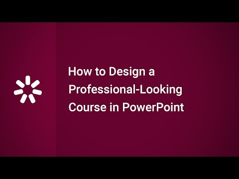How to Design a Professional-Looking Course in PowerPoint ...