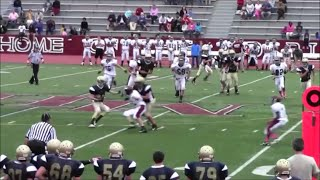 preview picture of video 'Sembrat Running Back Carry Against Morristown (Muted Audio)'