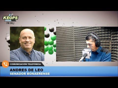 Senador De Leo analizó cómo debería ser la campaña de Vidal de cara a octubre