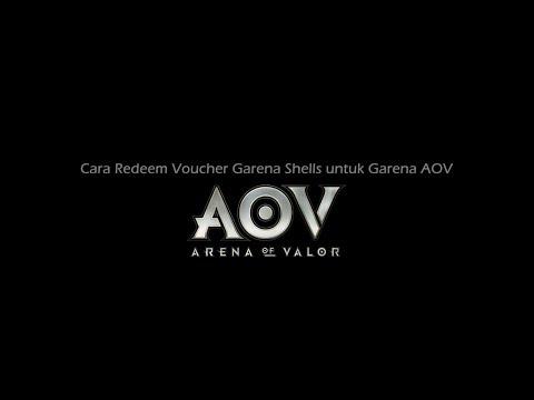 Cara Redeem Voucher Garena untuk Arena of Valor (AOV)