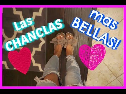 LAS CHANCLAS/SANDALIAS QUE TIENES QUE TENER SON LAS MAS BELLAS!! - Jackie Hernandez- Vlogs diarios
