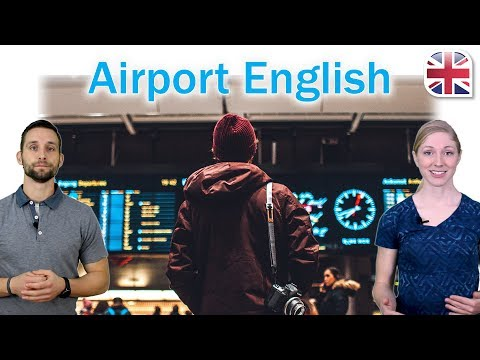 Airport English - At the Airport