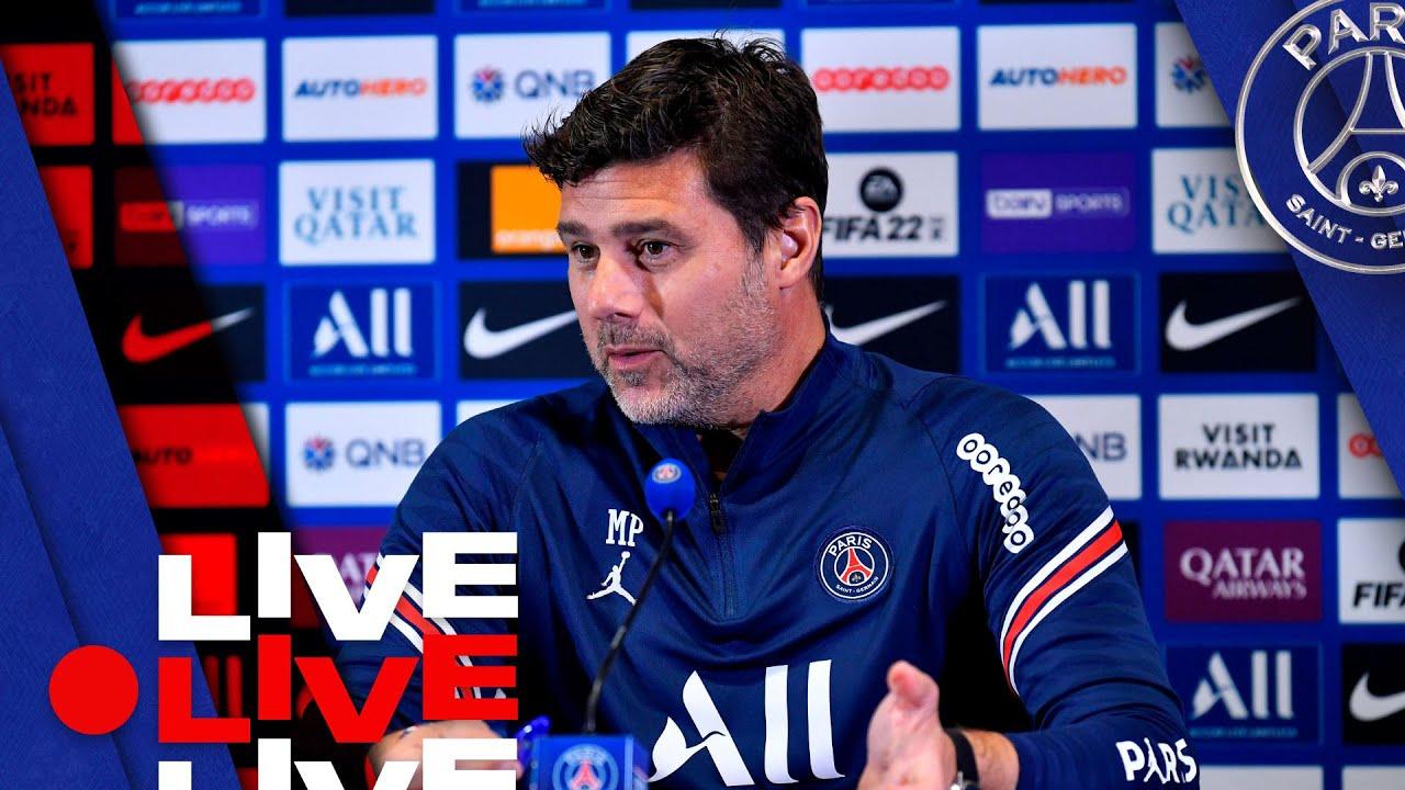 📍 Conférence de presse de Mauricio Pochettino avant Olympique de Marseille - Paris Saint-Germain  🔴🔵