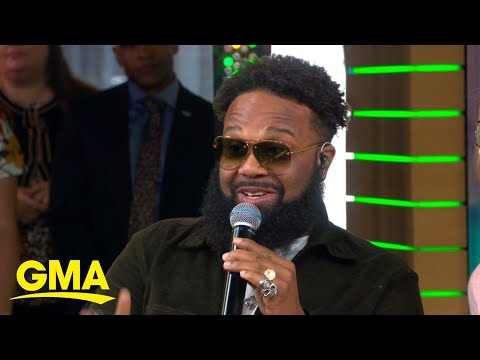 Blanco Brown chats about viral 'Git Up Challenge' l GMA