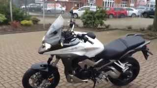 preview picture of video 'Honda Crossrunner 2015 Akrapovic bei Motorrad Huchting in Bremen walk around Video 1080p'