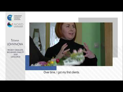 Video feedback of Tetiana Lohvinova, graduate of the Ukraine-Norway project