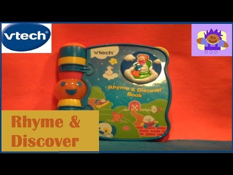 Vtech Rhyme & Discover Musical Book