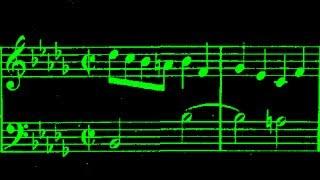 JS Bach / Malcolm Hamilton, 1964: WTC, Book II, Prelude and Fugue No. 22 in B-Flat Minor BWV 891