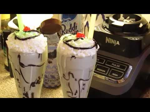 Chocolate Mint Banana Shake