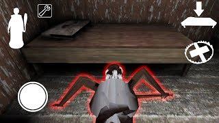 Мод за Гренни - прыгаю под кровать за жертвой !