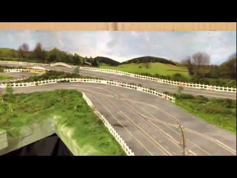 Building a 1960's Style Routed Wooden Slot Car Track – Part 12