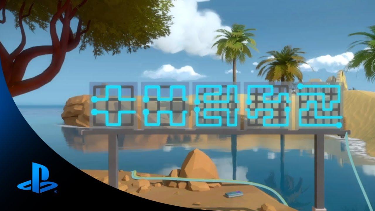 Conversando con los creadores, The Witness en PS4